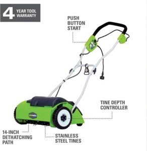 Greenworks 14-Inch 10 Amp Corded