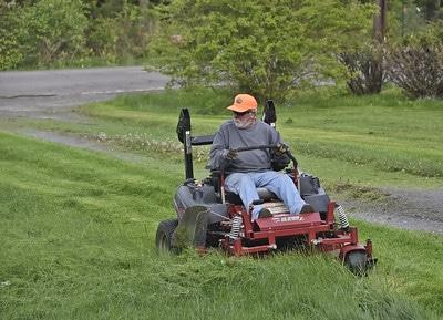 Best Ride on Mower for Stripes